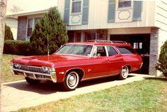 1968 Chevy Impala Wagon #chevroletimpala1965