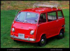 The 1970 Subaru 360 - 66 MPG before it was hip. #mini #subaru #yakima