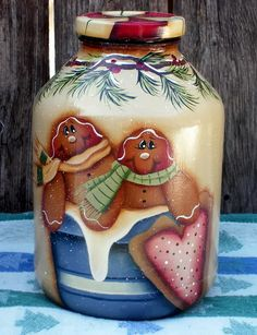 Hand_Painted_Gingerbread_Jar.jpg image by paintingrammy - {love the candy lid!!}