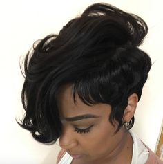 Voice of Hair is the place to find natural and relaxed hairstyles and hairstylists in your area. Find new styles or become a featured stylist! Quick Weave Hairstyles, Dope Hairstyles, Pretty Hairstyles, Straight Hairstyles, Black Hairstyles, Mixed Hairstyles, Protective Hairstyles, Short Sassy Hair, Short Hair Cuts