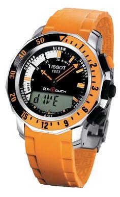 Tissot Sea Touch Relogio Mecanico, Basileia, Acessórios Masculinos, Canetas  Tinteiro, Relógios Legais 8b1368c45c