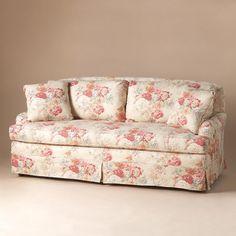 Superieur Vintage Floral Sofa