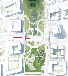 EFFEKT — VINGE STATIONStation area2014 #LandscapeMasterplan