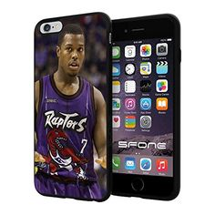 """Kyle Lowry Toronto Raptors #1148 Basketball iPhone 6 Plus I6+ (5.5"""") Case Protection Scratch Proof Soft Case Cover Protector SURIYAN http://www.amazon.com/dp/B00X3MB2MC/ref=cm_sw_r_pi_dp_ODlxvb0NA2522"""