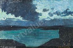 Carl Wilhelmson (1866-1928): Ovädersmoln, 1909