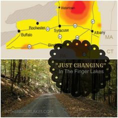 "What Does ""Just Changing"" Look like in the Finger Lakes (Sept 29, 2013)"