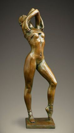 """Fine Art and You: Bronze Sculpture by French Artist-""""Jacques Le Nantec"""" 1940"""