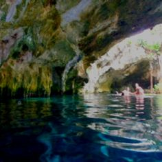 Underwater Caves! Mexico!