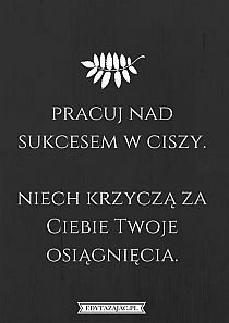 Złote myśli i cytaty na Stylowi.pl Daily Quotes, Woman Quotes, True Quotes, Motivational Words, Inspirational Quotes, Favorite Quotes, Best Quotes, Swimming Motivation, Fight For Your Dreams