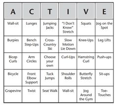 Fitness Bingo Warm-Up - Tap the pin if you love super heroes too! Cause guess what? you will LOVE these super hero fitness shirts! Pe Activities, Fitness Activities, Physical Activities, Indoor Activities, Health And Physical Education, Health Class, Science Education, Elementary Pe, Learning