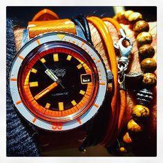 zodiac Vintage SEAWOLF dive watch.
