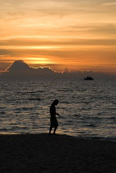 A Walk On The Beach - Thailand