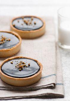 Schokolade-Erdnussbutter #Tartlets #Dessert
