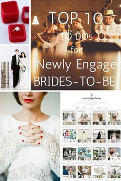 Top 10 To Dos for Every Newly Engaged Bride-to-Be