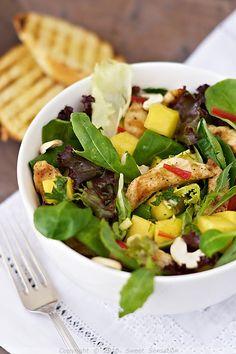 Mango Chicken Salad Picture
