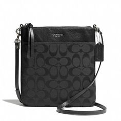 Coach  LEGACY NORTH/SOUTH SWINGPACK IN SIGNATURE FABRIC