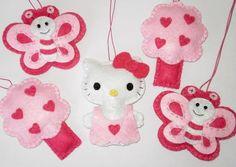 Hello Kitty crib mobile