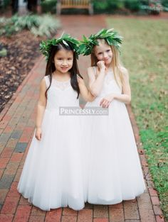 Angels in This Flower Girl Dresses