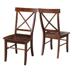 Sawyer Cross Back Solid Wood Dining Chair