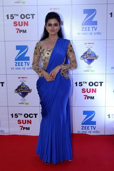 Actress bathing big boobs bikini swimsuit blouse view south dogra at the red carpet of the grand celebration of zee rishtey awards 2017 on sept 2017 thecheapjerseys Images