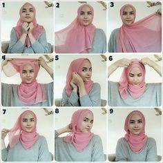 Hijab wrapping by Zahratul Jannah  http://bit.ly/1sfgF0E