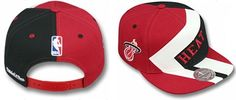 Miami Heat NBA Mitchell And Ness Snapback Hats Red/Black 433|only US$8.90
