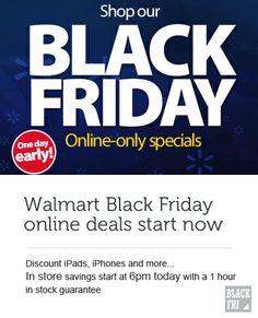 Walmart Black Friday Deals Online Now