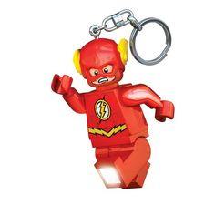 """This light-up Lego keychain that for some reason wasn't already named """"The Flash Light."""" 