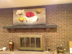 """Perfect painting for over the fireplace which is """"in the kitchen""""!!"""