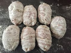 Zawijane zraziki z mięsa mielonego - Blog z apetytem My Favorite Food, Favorite Recipes, Baked Potato, Bread, Baking, Dinner, Ethnic Recipes, Blog, Meat
