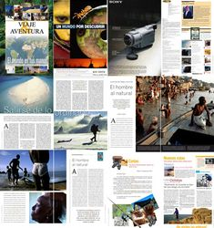 Plantilla de revista para QuarkXPress (formato QXD) de 12 páginas. Travel Magazines, Newspaper, Editorial, Movies, Movie Posters, Journal Pages, Magazine Template, Free Stencils, Paths
