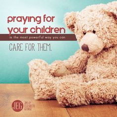 """One of our favorite verses to pray for children is Ephesians 1:17, """"I keep asking that the God of our Lord Jesus Christ…may give you the Spirit of wisdom and revelation, so that you may know Him better.""""  Commit to doing your part and trust God to do His!"""