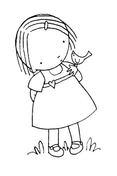 Heather Ellis - FREE DIGI STAMPS