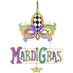 Your Mardi Gras is sure to be happy when you have our bright, sparkly mask on your wall. Add some beads, a little king's cake and a few good friends—your Mardi Gras is going to be fabulous.