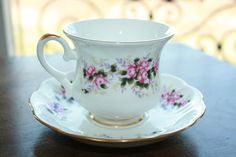 Royal Ascot  Rose Society  vintage tea cup and door HomiArticles