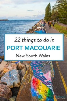 I grew up holidaying in Port Macquarie and have fond childhood memories of camping at the Breakwall Caravan Park, visiting Fantasy Glades and riding the water slides at Peppermint Park. We loved those