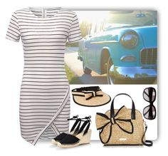 """On the Road with My Straw Bag"" by aly53-1 ❤ liked on Polyvore featuring Keen Footwear, Kate Spade, STELLA McCARTNEY, Gucci, StrawBag and contestentry"