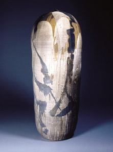 Toshiko Takaezu American, 1922 - 2011 Unas, From the Star Series Glazed stoneware Sculpture Clay, Abstract Sculpture, Sculptures, Ceramic Clay, Ceramic Pottery, Toshiko Takaezu, Museum Of Contemporary Art, Japanese Pottery, Ceramic Artists