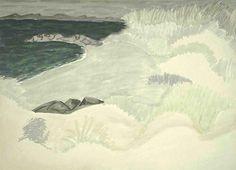 milton avery - dark cove pale dunes (1945)