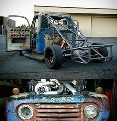 Ford F100 - Rat/Pro Touring