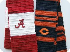 School is back in session and football season is just beginning, so show your team spirit with these fun team spirit crochet patterns. You can even win some yarn to make them.