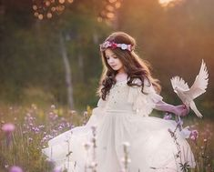 Saint Esprit, Girls Dresses, Flower Girl Dresses, Wedding Dresses, Pretty, Moon, Image, Facebook, Fashion