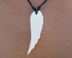 50 Meaningful Necklaces For Guys ( Mens Meaningful Necklaces ) Wing Necklace, Evil Eye Necklace, 14k Gold Necklace, Angel Wings Clip Art, White Angel Wings, Bone Jewelry, Men's Jewelry, Meaningful Necklace, Good Luck Necklace