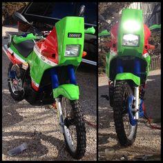Tengai Dakar Build - Page 11 - Forums - Your Kawasaki Forum Resource! Crotch Rockets, Klr 650, Enduro Motorcycle, Dual Sport, Bike Stuff, Touring, Transportation, Adventure, Autos
