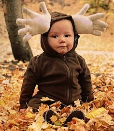 """Yes!!!! We Found Morgan's costume! We call him out """"moose"""" all the time! Perfect!"""
