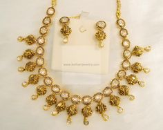 Necklaces / Harams - Gold Jewellery Necklaces / Harams (NKQW0051PK) at USD 5,158.38 And EURO 4,950.98