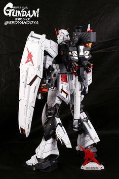 Neo Grade Nu Gundam - Customized Build Modeled by Seoyahooya Frame Arms, Plastic Art, Gundam Model, Mobile Suit, Grade 1, Guys, Building, Airplanes, Robots