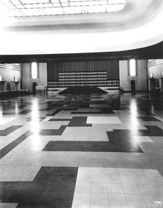 Eaton Auditorium #Carlu Eaton College, Private Dining Room, Auditorium, Toronto, Hardwood Floors, Art Deco, Ocean, Culture, History