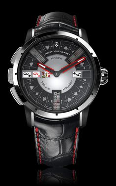 POKER | Gaming Watches | Christophe Claret | REFERENCE  : MTR.PCK05.001-020