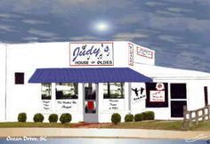 Judy's House of Oldies, Ocean Drive Beach, SC (NMB)...the place for CD's and shag dance shoes